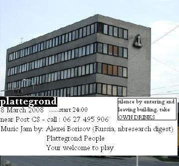 8Maart Plattegrond2008